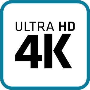Ultra HD 4K Logo Vector (.AI) Free Download.