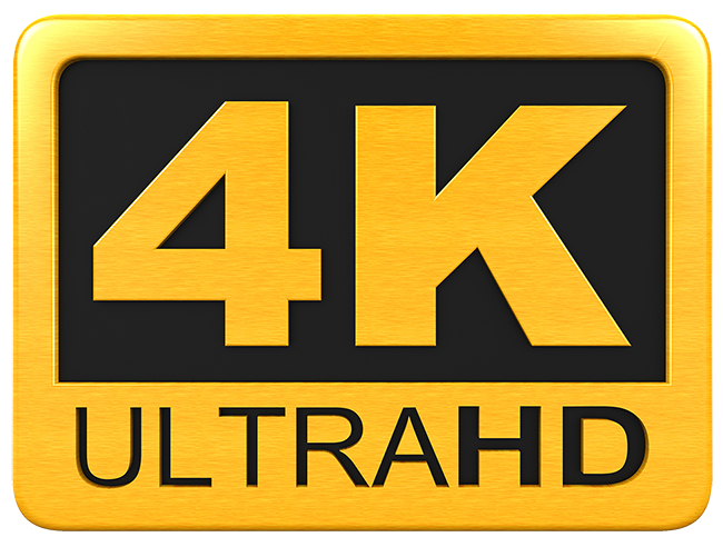 Uhd 4k Logos.