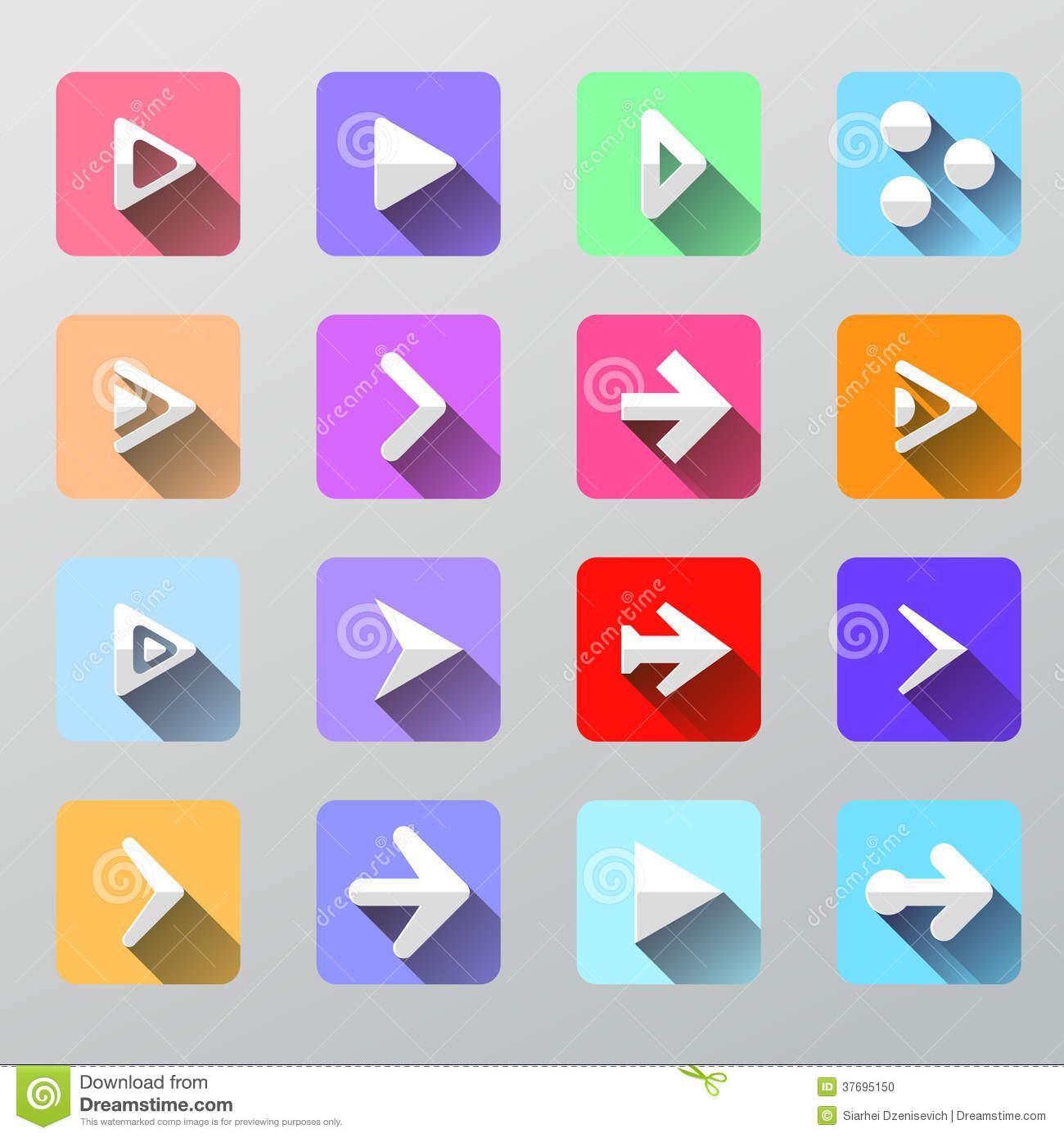 Set Arrow Icons.