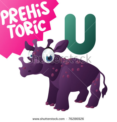 Uintatherium Stock Photos, Royalty.