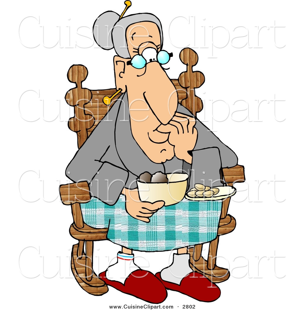 Old People Clipart.