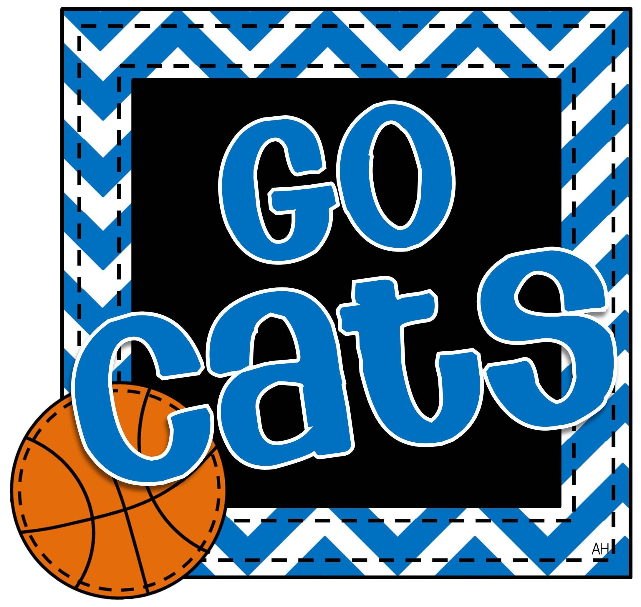 12+ Kentucky Wildcats Basketball Clipart.