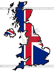Uk Map Clipart.