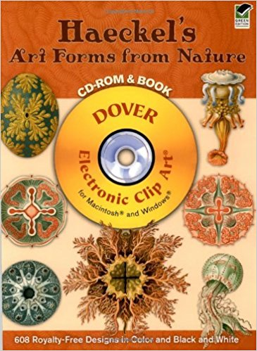 Haeckel's Art Forms from Nature (Dover Electronic Clip Art.