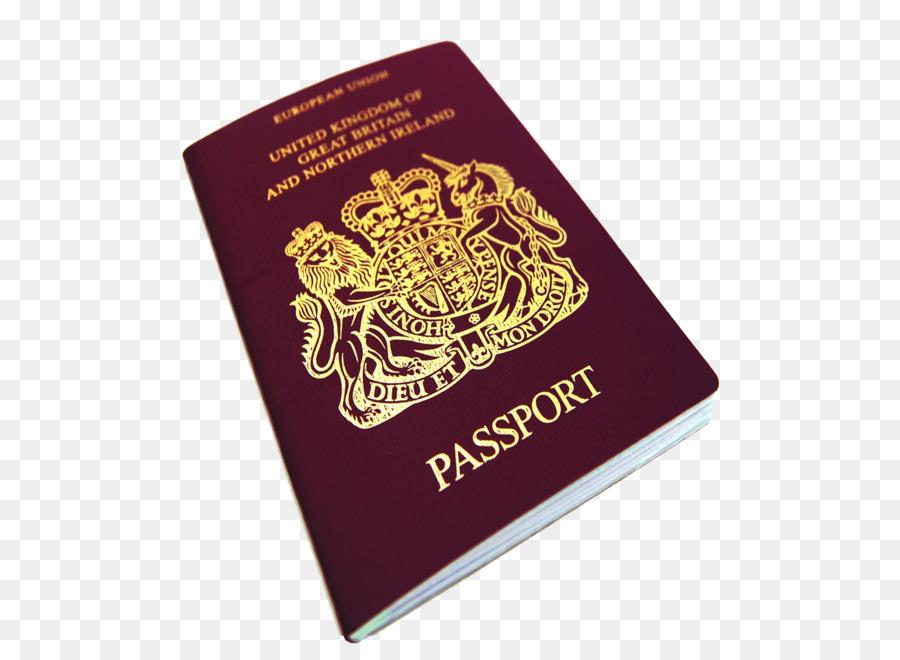 British Passport Clipart.