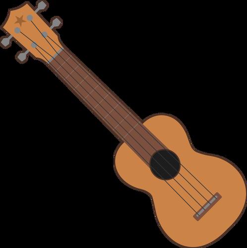 Simple ukulele outline.