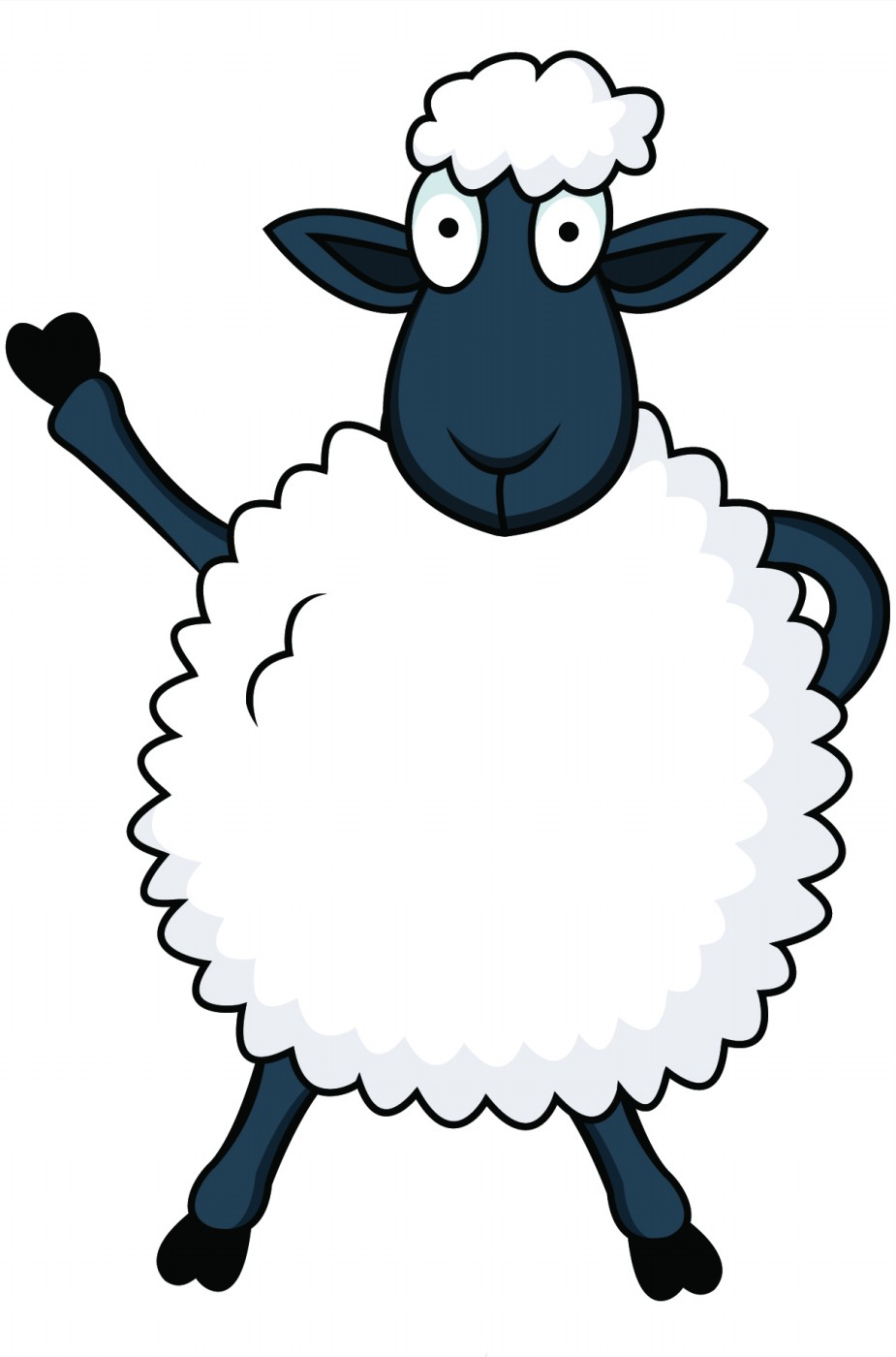 Pictures Of Cartoon Sheep.
