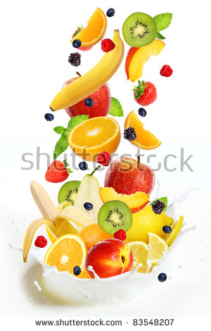 Falling fruit white background free stock photos download (18,242.