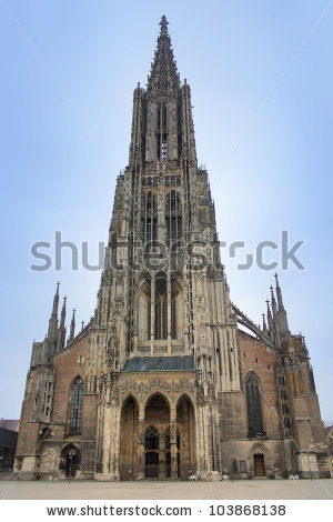 Ulm Cathedral Stock Photos, Royalty.