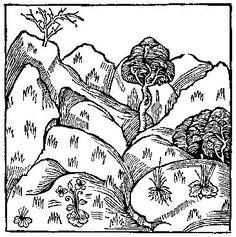 medieval woodcut.
