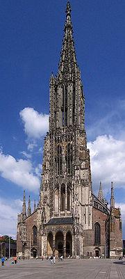 Der Ulmer Münster.