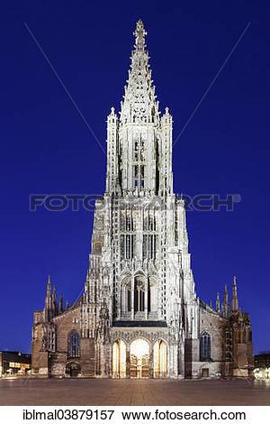 "Picture of ""Ulm Minster, Ulm, Baden."
