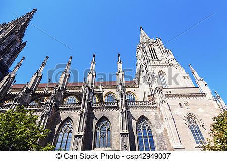 Stock Fotografie von ulm, münster.