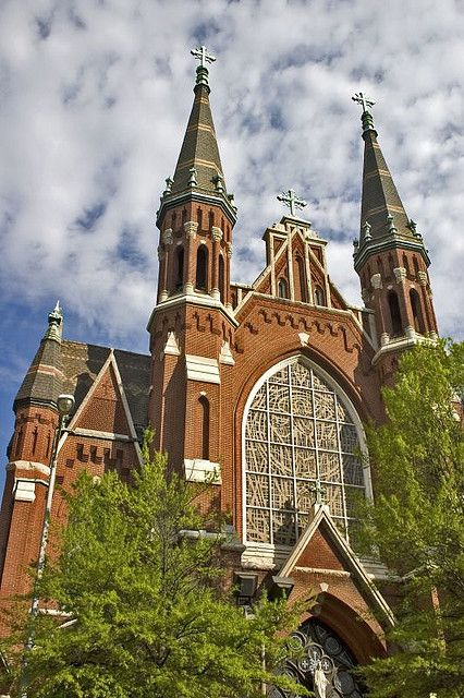 Trips, Brick building and Church on Pinterest.