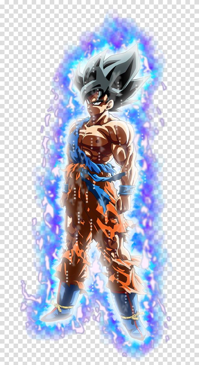 Goku SSJ (Namek), Ultra Instinct Aura Palette # transparent.