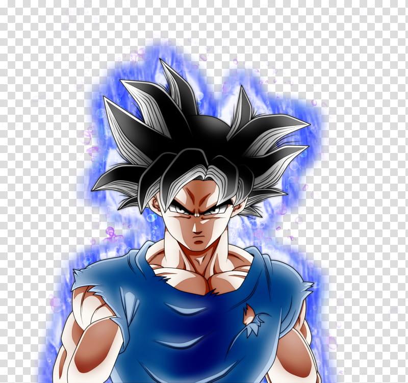 Goku Ultra Instinct Aura transparent background PNG clipart.
