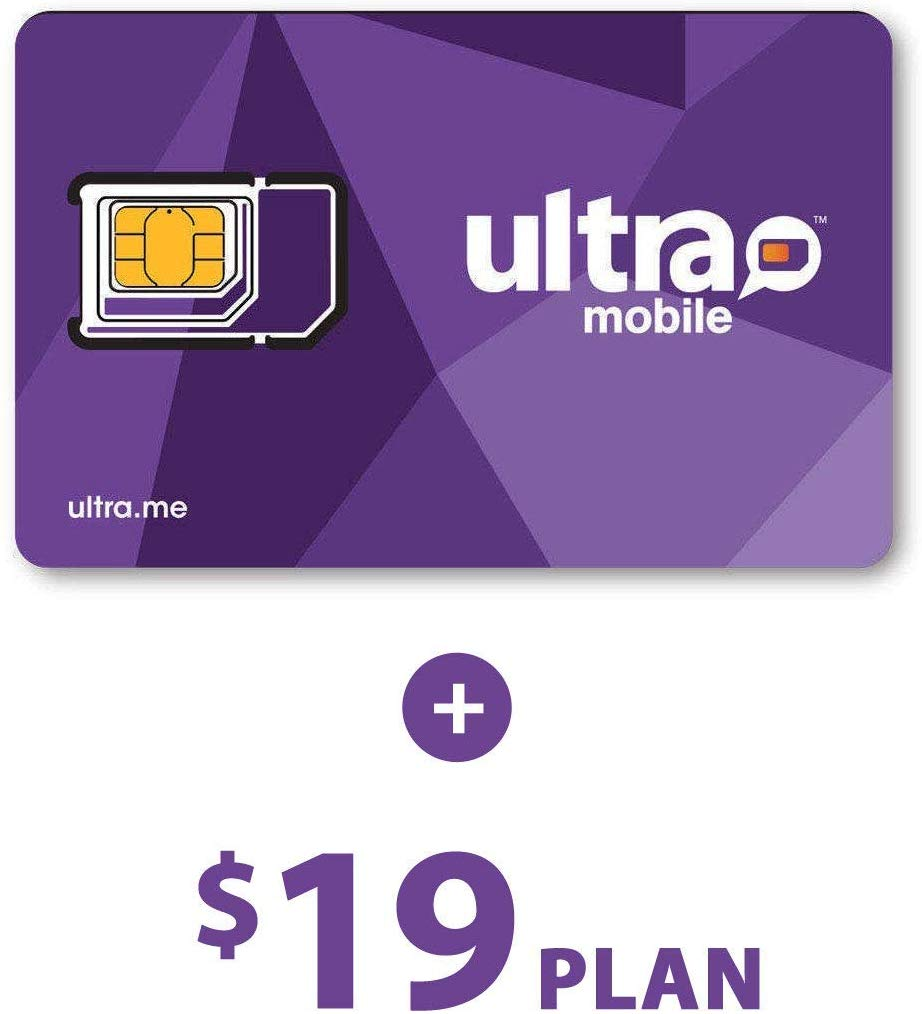 Ultra Mobile $19 Plan with 3 Months Service.