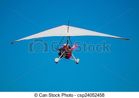 Stock Images of Ultralight Flight.