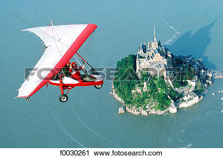 Stock Photography of France, Normandy, Mont Saint.