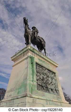 Stock Photo of Ulysses S. Grant Memorial in Washington DC.