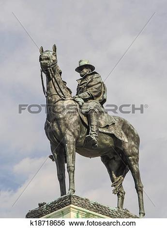 Stock Images of Ulysses S. Grant Memorial in Washington DC.