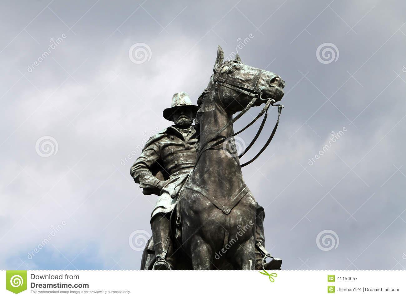 Ulysses S. Grant Memorial Monument Washington DC Stock Photo.