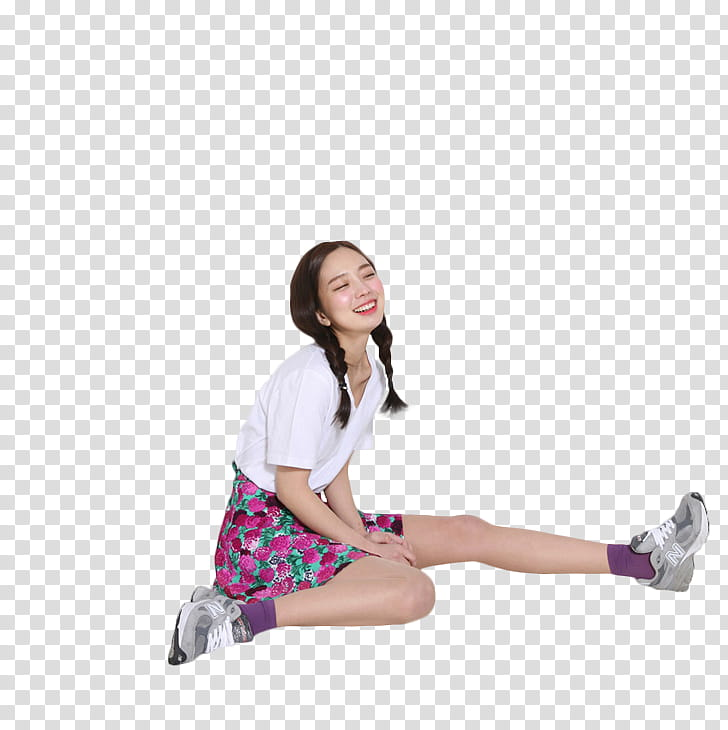 RENDER Park Seul Ulzzang, girl\'s white and pink dress.