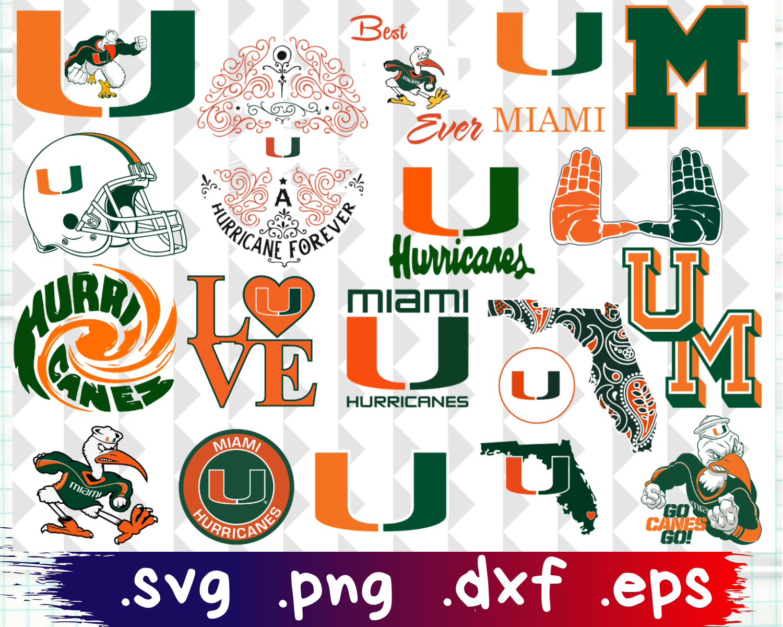 Miami, Miami Hurricanes svg, Miami Hurricanes logo, Miami.