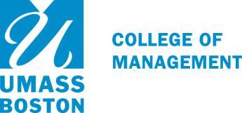 FT/PT MBA at University of Massachusetts Boston College of.