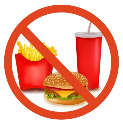 Clip Art Say No Junk.