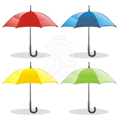 Clip Art Of Umbrella Month Clipart.