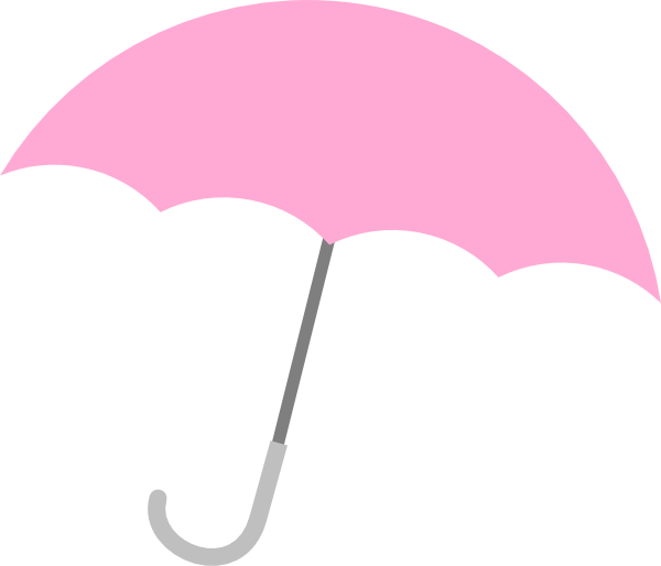 Animated Umbrellas Clipart.