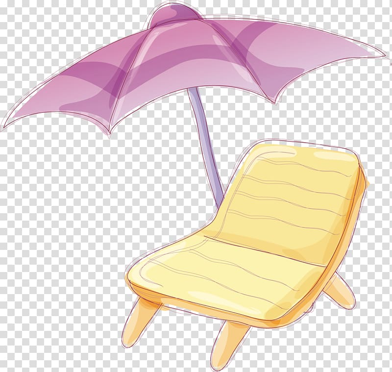 Umbrella Beach Chair, jerrycan transparent background PNG.