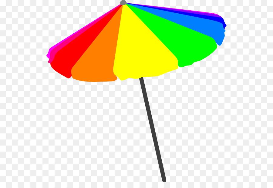 Umbrella Beach Garden Furniture Line Angle.