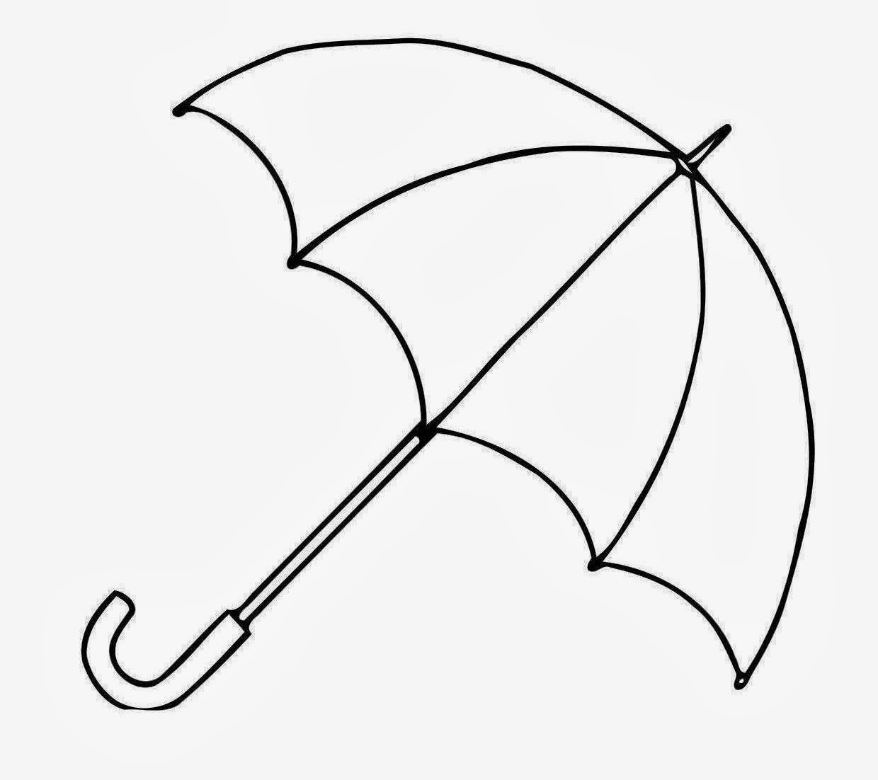 Free Umbrella Outline, Download Free Clip Art, Free Clip Art.