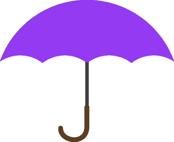 Purple Umbrella SVG Clip arts download.