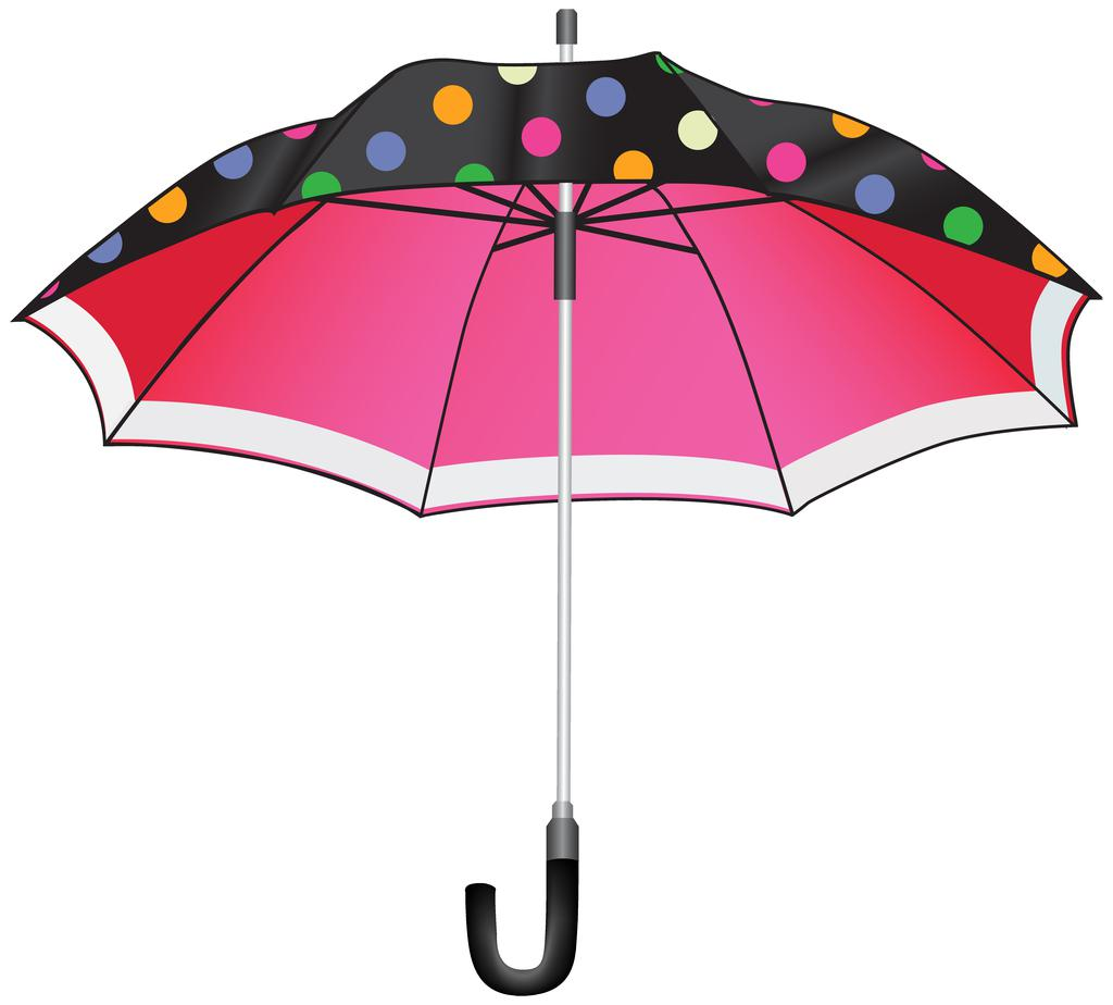 Umbrella Clipart Image Png Dotted.