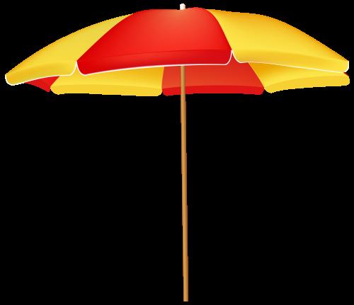 Beach Umbrella PNG Clip Art.