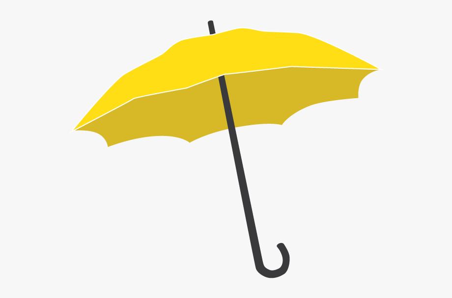 Yellow Umbrella Png.