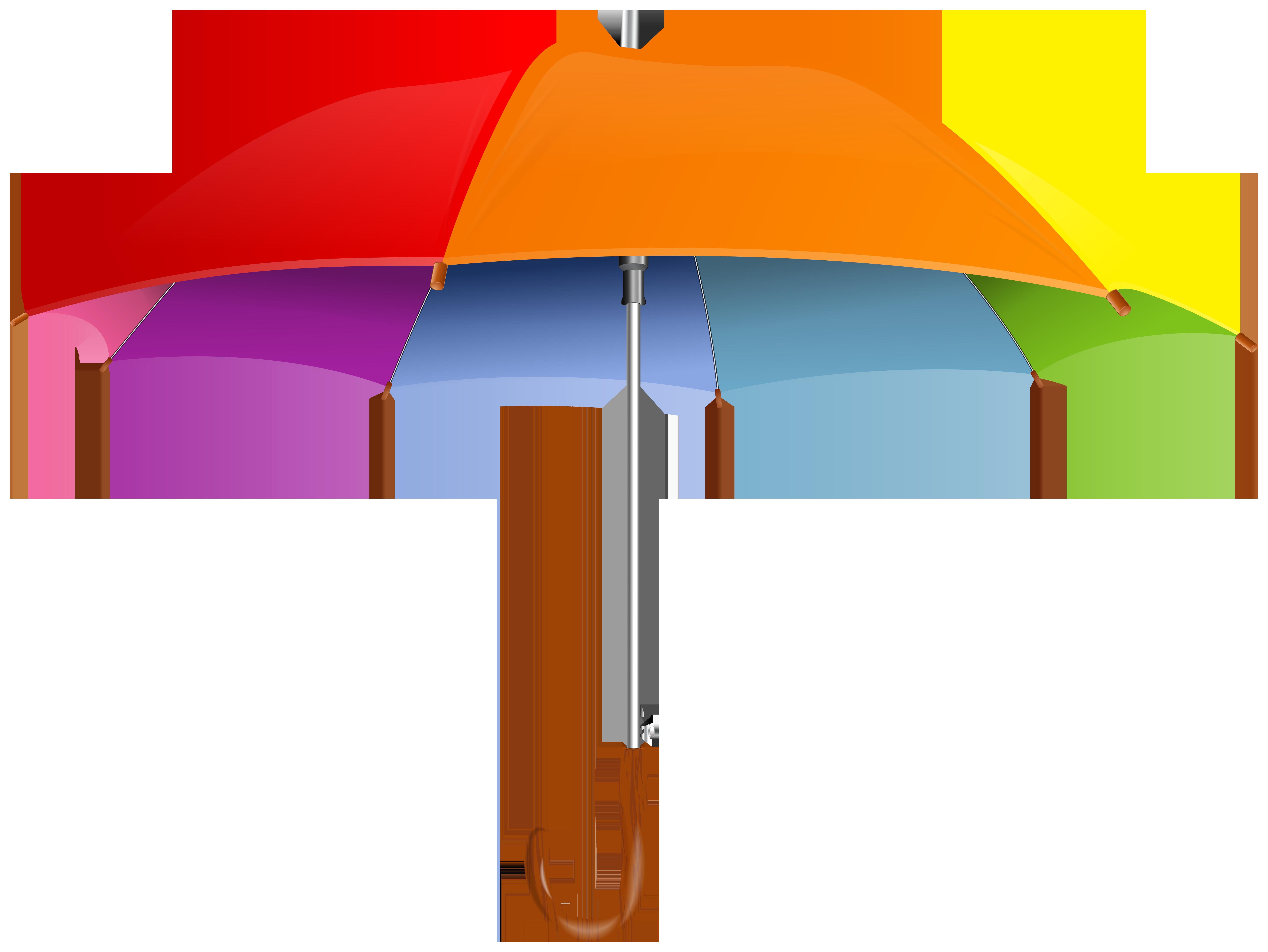 Umbrella PNG Clip Art Image.