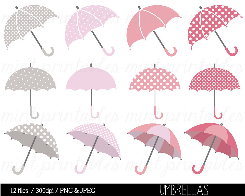 Umbrella Clipart Clip Art Baby Shower Clipart Bridal Shower.