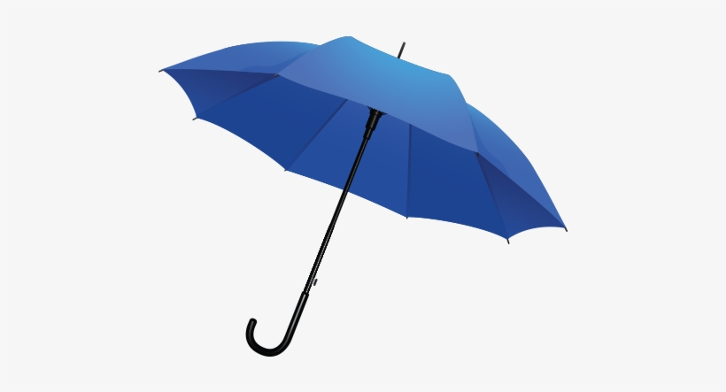 Blue Umbrella Transparent Background.