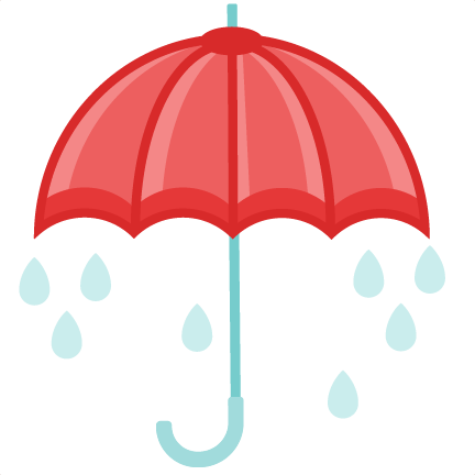 Umbrella rain clipart clipart cute.