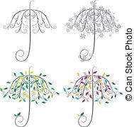 Umbrella shape Vector Clipart Illustrations. 2,844 Umbrella shape.