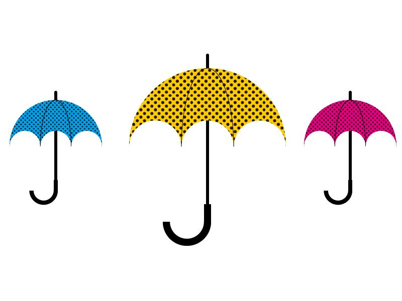 How to Create Umbrella Illustration (Illustrator).