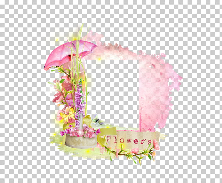 Frame Film frame Digital photo frame , English cartoon pink.