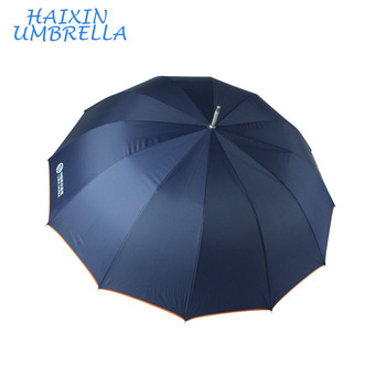 Promotional Power Bank Charger Gift Blue Umbrella With Logo.