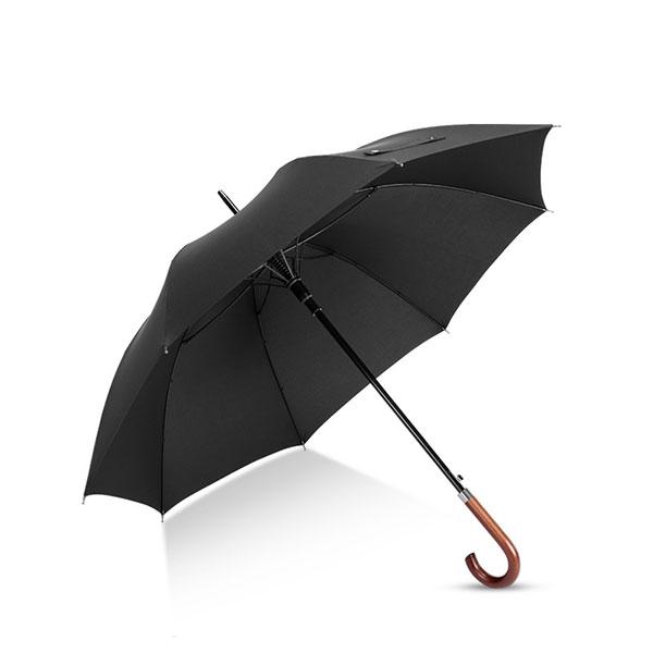 Branded Umbrella for Hotel British Style Wooden Hook Handle.