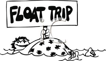 Float Trip Clipart.