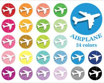 Aeroplane clipart.